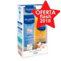 Mustela Pack Bebé Muy Alta Protección Solar en Spray SPF50, 300 ml + After Sun Spray 125 ml