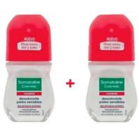 Somatoline Hombre Desodorante Piel Sensible Roll-on, 2x50 ml ! Farmaconfianza