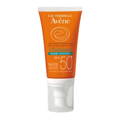Avéne Solar Cleanance SPF50, 50 ml.