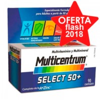 Multicentrum Select 50+, 90 comprimidos