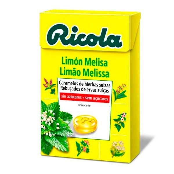 Ricola caramelos melisa de limón