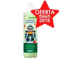 NOSA Champú Árbol del Té Verde, 250 ml.