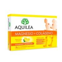 Aquilea Magnesio Colágeno Sabor Limón, 30 comprimidos masticables | Compra Online