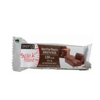 Siken Form Snack Time Barrita Brownie, 1 unidad