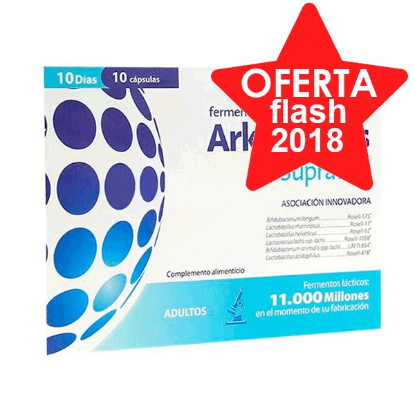 Arkopharma Arkobiotics Supraflor, 10 cápsulas | Farmaconfianza