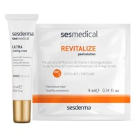 Sesderma Sesmedical Revitalize Personal Peel Program, 4 toallitas Revitalize Peel Solution + 15 ml Ultra Sealing Cream