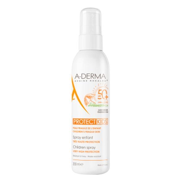 Aderma Kids Protect Spray Solar SPF50+, 200 ml   Compra Online