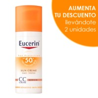 Eucerin Sun Protection CC Cream Tono Medio SPF50, 50 ml.| Farmaconfianza