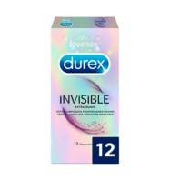 Durex Invisible Extra Fino Extra Sensitivo, 12 preservativos | Compra Online