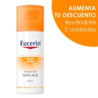 Eucerin Sun Fluido Anti-Age SPF50, 50ml. | Farmaconfianza
