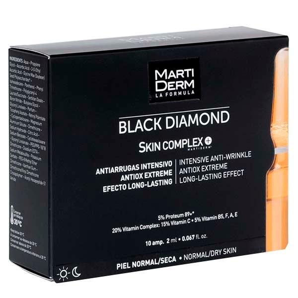 Martiderm Skin Complex+ antiedad y antioxidante intensivo con proteoglicanos, 10 ampollas