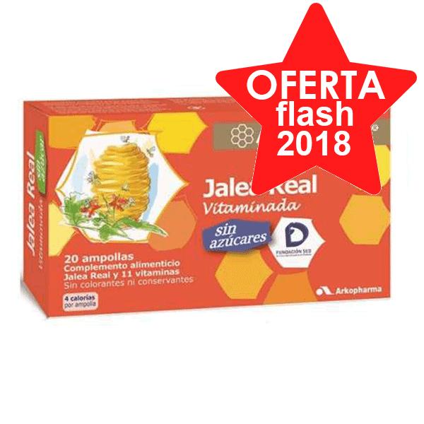 Arko Real Jalea Real Vitaminada sin Azúcares, 20 ampollas | Farmaconfianza