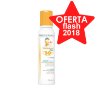 Bioderma Photoderm Kid Mousse SPF50 espuma ultrasuave para niños, 150 ml.