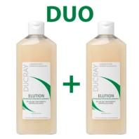 Ducray Duo Elucion Champú, 2 x 400ml. | Farmaconfianza