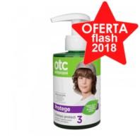 OTC Champú Antipiojos Protect con Queratina, 300 ml