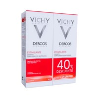 Vichy Dercos Champú Estimulante 200 ml + 2 ud 40% ! Farmaconfianza