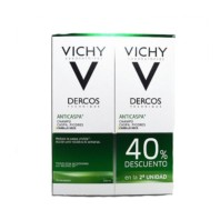 Vichy Dercos Champú Anticaspa para Cabello Seco, 2x200 ml | Farmaconfianza
