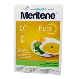 Meritene de Nestlé Puré Guisantes Estofados, 450 gr. ! Farmaconfianza