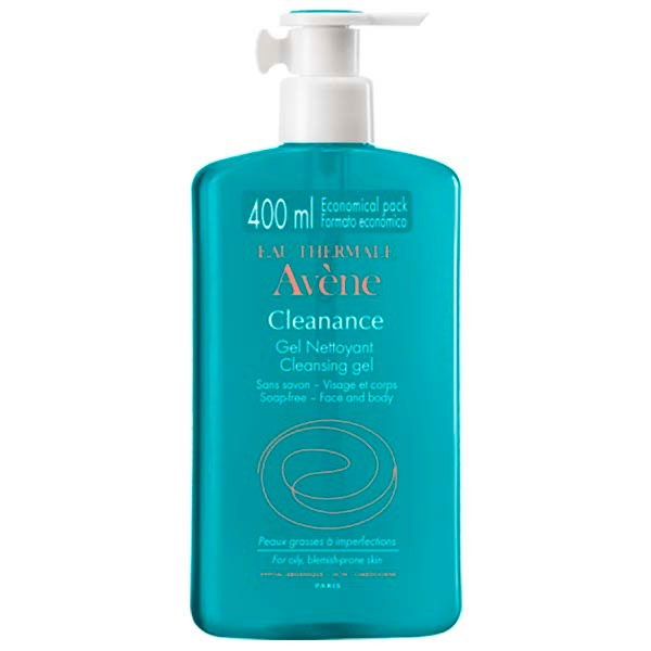 Avène Cleanance Gel Limpiador, 400 ml ! Farmaconfianza