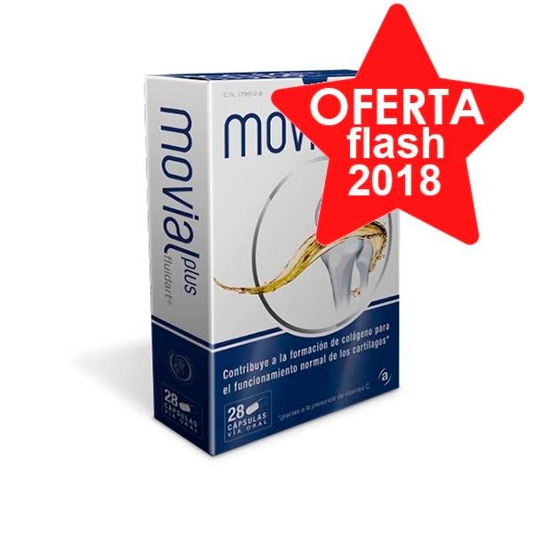 Movial Plus Fluidart, 28 cápsulas. ! Farmaconfianza
