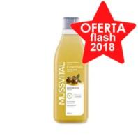 Mussvital Essentials Gel de Baño Detoxificante con Aceite de Oliva, 750 ml.
