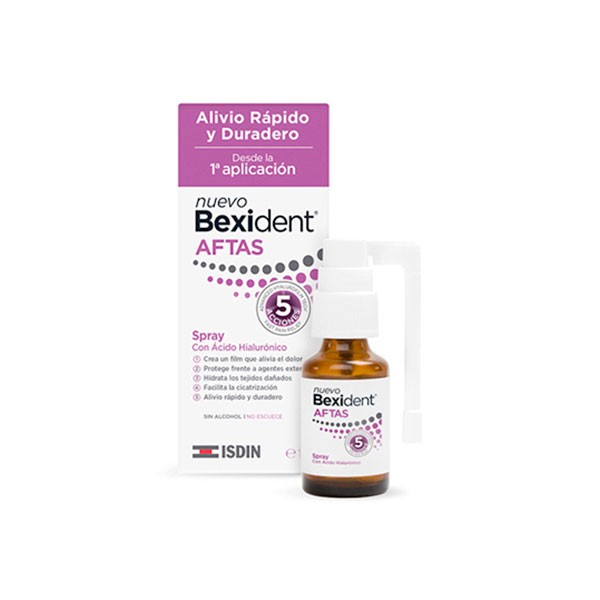 Bexident Aftas Spray Acido Hialurónico, 15 ml | Farmaconfianza
