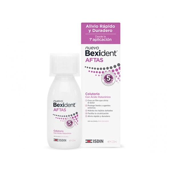 Bexident Aftas Colutorio con Ácido Hialurónico, 120 ml   Farmaconfianza