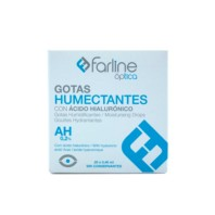 Farline Gotas Humectantes 0,2% AH, 20 x 0,40 ml. ! Farmaconfianza