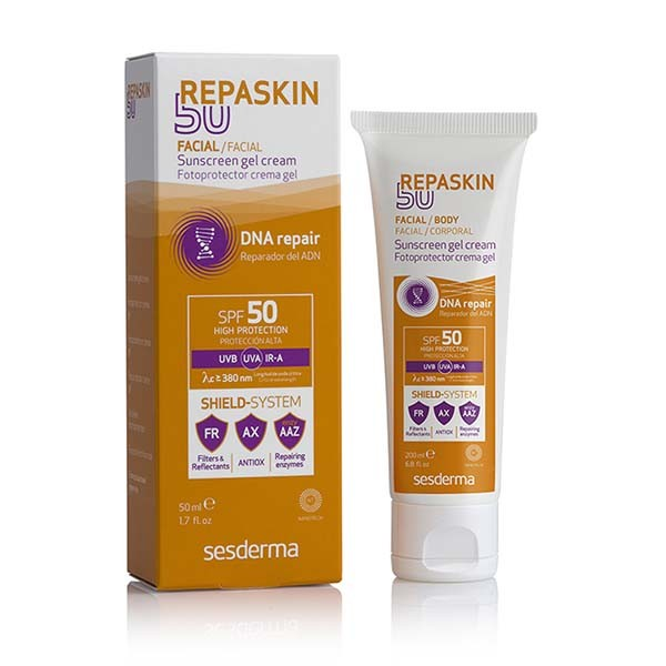 Sesderma Repaskin Fotoprotector SPF50 Facial Tacto Seco, 50 ml ! Farmaconfianza