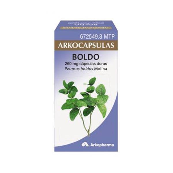Arkocápsulas Boldo, 48 cápsulas   Farmaconfianza