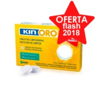 Kin Oro tabletas limpiadoras, 30 tabletas ! Farmaconfianza