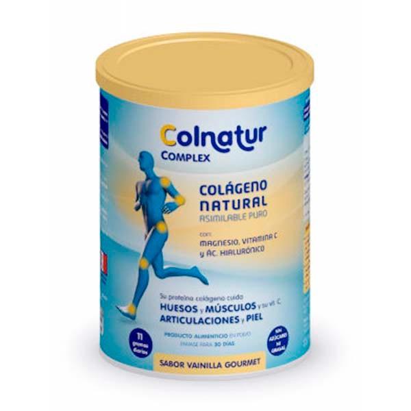 Colnatur Complex Colágeno + Ácido Hialurónico + Magnesio + Vitamina C sabor Vainilla 345 g ! Farmaconfianza