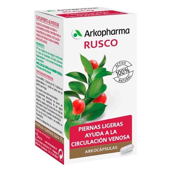 Arkocápsulas Rusco, 45 cápsulas   Farmaconfianza
