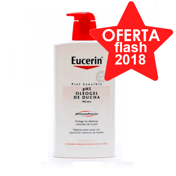 Eucerin pH5 Oleogel de ducha, 1000 ml