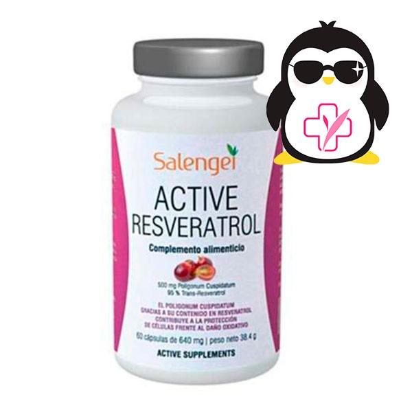 SALENGEI Active Resveratrol, 60 cápsulas