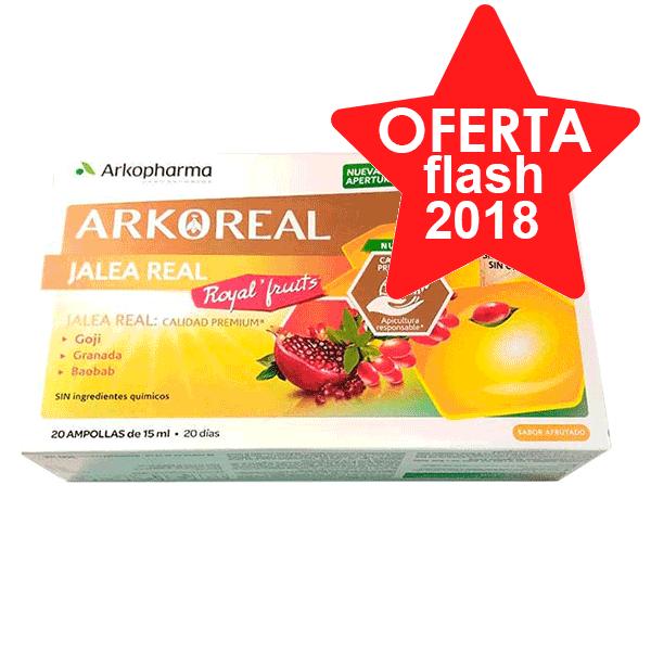 Arkopharma Jalea Real Royal Fruits, 20 amp. | Farmaconfianza