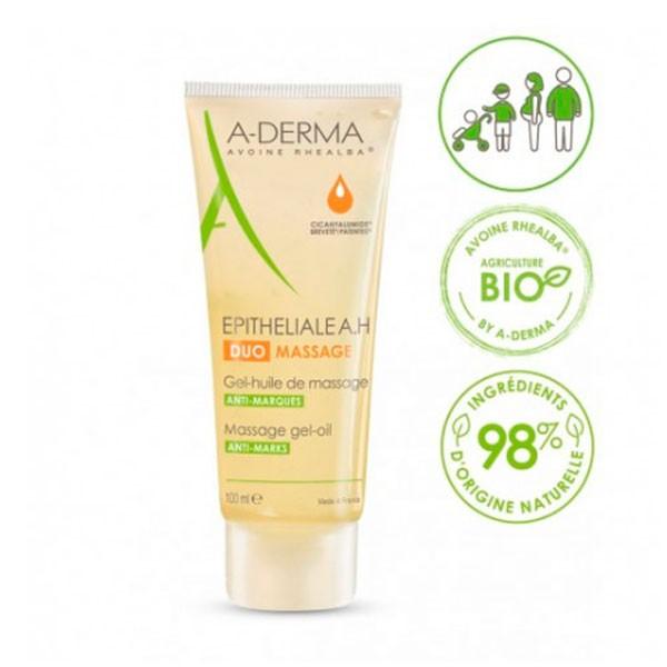 Aderma Ephiteliale AH Duo Gel-Aceite de Masaje, 100 ml | Compra Online