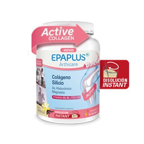 Epaplus Arthicare Colageno + Calcio, HIalurónico, Magnesio sabor vainilla   Farmaconfianza