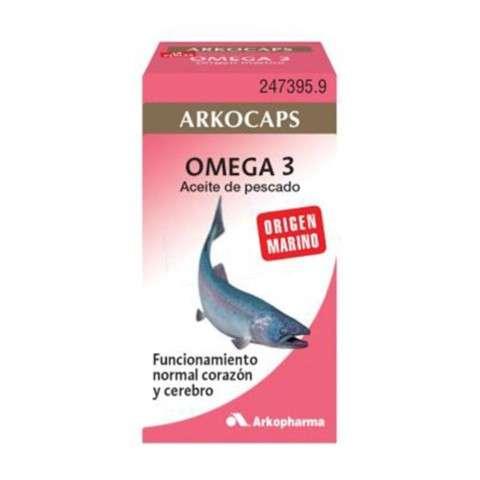 ARKOCAPS Omega 3, 100 cápsulas ! Farmaconfianza