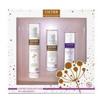 CATTIER Pack Tratamiento Anti-edad. Incluye: Crema Antiedad y Antiarrugas 50ml + Contorno de Ojos 15ml + de Regalo Leche Desmaquilladora 50ml. | Farmaconfianza