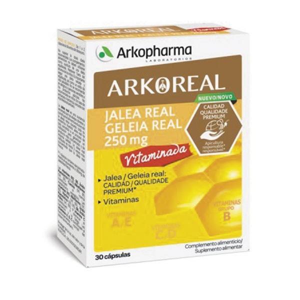 Arko Real Jalea Real Vitaminada Forte 250 mg, 30   Farmaconfianza