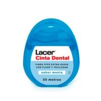 Lacer Cinta Dental Extra Suave Menta, 50 metros|Farmaconfianza