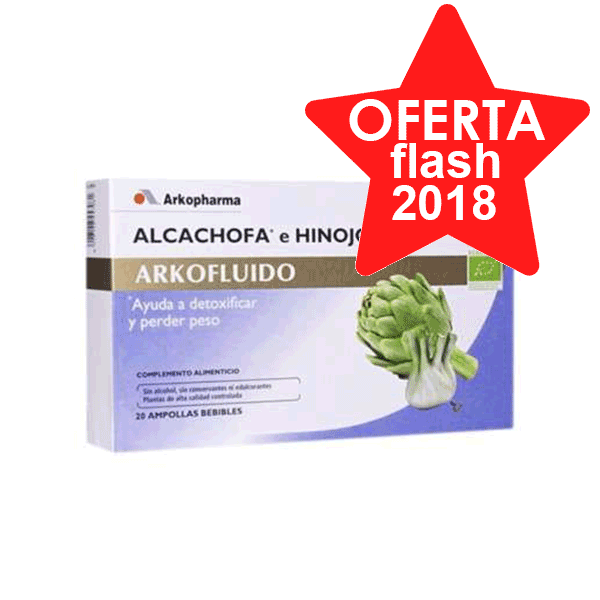 Arkofluido Alcachofa Hinojo 20 ampollas ! Farmaconfianza