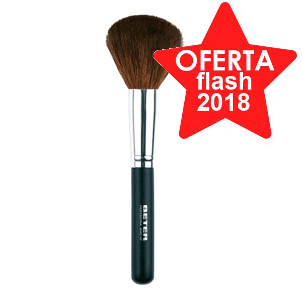 Beter Brocha de Maquillaje Gruesa, Pelo de Cabra. 18,5 cms