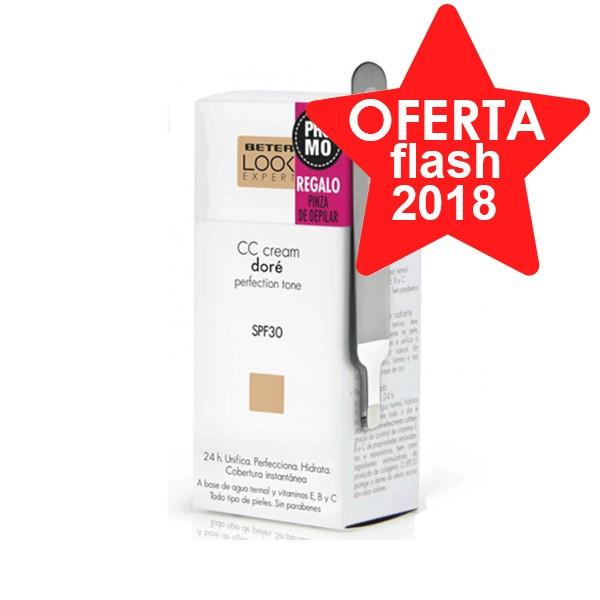 Beter CC Cream SPF30 Doré, 50 ml con REGALO Pinza de Depilar