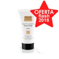 Beter Look Expert Base de Maquillaje Líquida SPF35, Tono Sweet Nudé