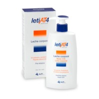 Leti, AT4 Leche Corporal, 500ml. | Farmaconfianza