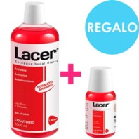 Lacer Colutorio 1000 ml + REGALO colutorio 100 ml. | Farmaconfianza