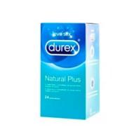 Durex Natural Plus, 24 preservativos | Compra Online