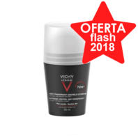 Vichy Homme Desodorante Antitranspirante Control Extremo Roll-on, 50 ml
